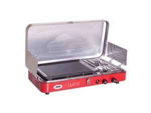 Camp Chef Rainier 2 Burner Stove With Griddle MS2GR