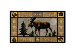 American Expedition Cutting Board Lodge Series Moose CBRD-605