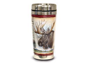 American Expedition Steel Travel Mug 16oz - Moose