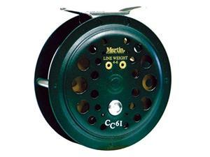 Martin Caddis Creek Fly Reel 20#/50Yd Bk 30Yd/6Wt Cc65-Bx6