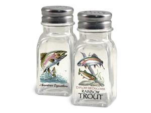American Expedition Rainbow Trout Salt and Pepper Shakers SALT-112