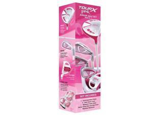 Merchants of Golf Tour X Pink Size 1 Ages 5-7 5pc Set w/Bag Left Hand 41531