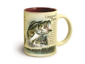 American Expedition Wildlife Ceramic Mug 16 oz - Lrgmth Bass