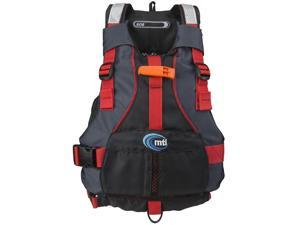 MTI Adventure Wear Youth Life Jacket, Blk/Rd, MTI-250D-0Kr00