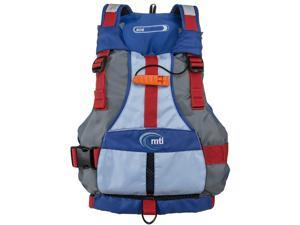 MTI Adventure Wear Youth Life Jacket Gry/Blu MTI-250D-0Ab00