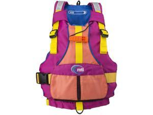 MTI Adventure Wear Youth Girls Pfd, Bry/Crl MTI-250D-0Pe00