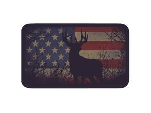 River's Edge American Flag/Deer Memory Foam Mat 1846