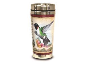 American Expedition Steel Travel Mug 16oz - Hummingbird
