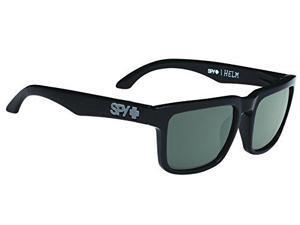 Spy Optic Helm Sunglasses Black/Happy Gray Green 673015038863