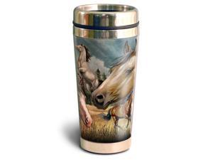 American Expedition 16oz Steel Travel Mug Mustang STMG 310