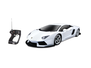 Big Aventador Lamborghini Remote Control Car WHITE