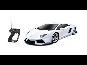 Big Aventador Lamborghini Remote Control Car WHITE