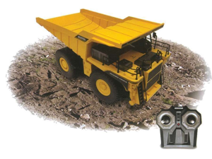 PREMIUM Remote Control Dump Truck Hobby Engine RC 1/24 Mining Truck