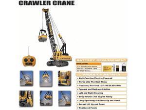 Huge Heavy Duty RC (Remote Control) Construction Crane W/Treads