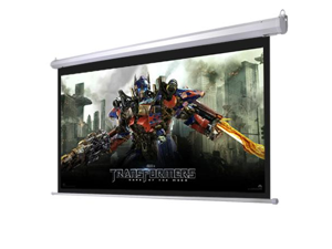 """Automatic Electric Projector Screen Wall Mounted 92"""" 16:9"""