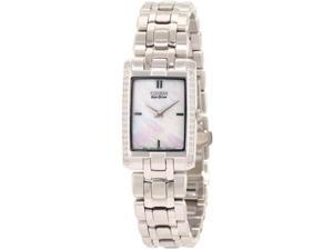 Citizen Eco-Drive Stiletto Mother-of-pearl Dial Women's watch #EG3170-54D