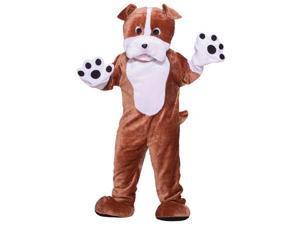 Deluxe Mascot Bulldog Costume - Adult Std.