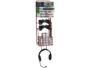 ATLANTIC 38806137 Wall-Mount Game Rack