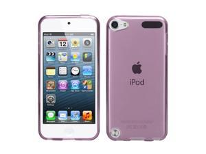 Apple iPod Touch 5th Gen/6th Gen Case, eForCity Jelly TPU Rubber Candy Skin Transparent Case Cover Compatible With Apple iPod Touch 5th Gen/6th Gen, Purple