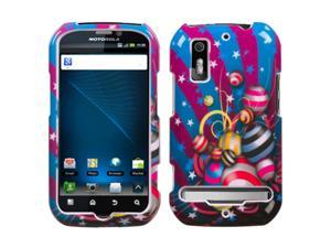 MYBAT Jumpy Phone Protector Faceplate Cover Compatible With MOTOROLA Electrify, MB855(Photon 4G)