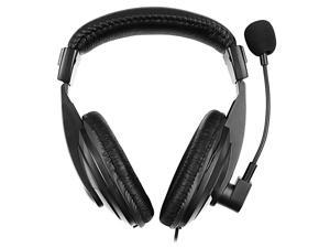 eForCity VOIP / Skype Hands-free Headset with Microphone (Black)