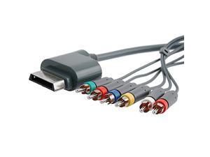 eForCity Premium HD AV Component Cable Cord For MICROSOFT XBOX 360 / Xbox 360 Slim