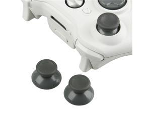 Controller Thumb Joysticks for Microsoft xBox 360, Grey [2-pack]