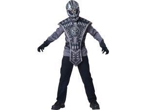 Boys Ancient Alien Soldier Costume sz Large 10
