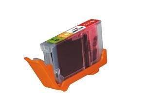 G&G Red Ink Cartridge w / Chips CLI-8R For Canon PIXMA iP5200 iP4200 MP970 MP530 MP500