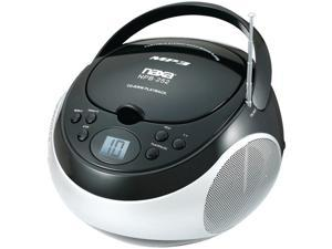 Naxa Npb252Bk Portable CD/MP3 Player With Am/Fm Stereo ,Black