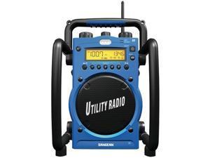 Sangean U3R Digital Am/Fm WaterResistant Utility Radio With Alarm