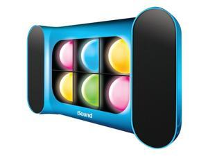 Dreamgear Isound-5244 Iglowsound Speaker System With Dancing Lights , Blue