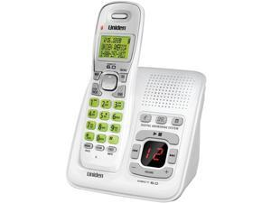 Uniden D1483 Dect 6.0 Cordless Phone System With Answering System & Caller Id ,White