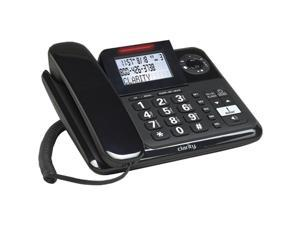 Clarity E814 (53730) 1-line Operation Amplified Corded Phone Integrated Answering Machine