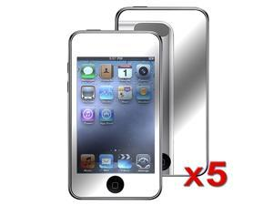 Fosmon Mirror Screen Protector for Apple iPod Touch 2nd Gen / 3rd Gen (5-Pack)