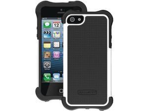 Ballistic Black/White Solid SG Maxx Case for iPhone 5 SX0945-M385