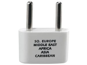 CONAIR Adapter Plug compatible with Europe / Middle East / Parts of Africa / Caribbean