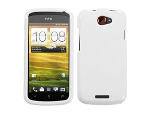 MYBAT Natural Ivory White Phone Protector Cover Compatible With HTC One S