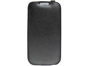 ILUV SS4Envebk Envelop Premium Synthetic Leather Flip Case Compatible With Samsung© Galaxy S4 SIV