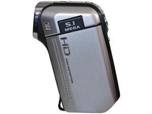 Dxg Usa Dxg-5B6Vs Hd 16.0 Megapixel 720P High-Definition Quickshots Mini Digital Video Camera (Silver)