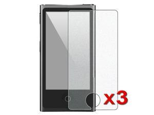 eForCity 3 x Colorful Diamond Screen Protector Compatible with Apple® iPod Nano 7 / 7th / 7 th / 7 Generation / Gen7 / 7 ...