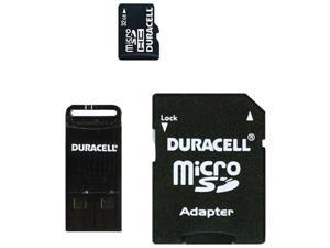 Duracell Du-3In1-32G-C Micro Secure Digital Cardwith Universal Adapter (32 Gb)