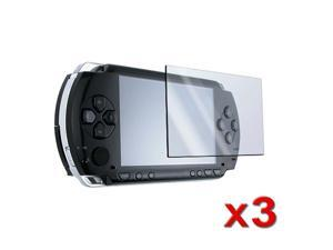 eForCity For Sony PSP 1000 2000 3000 SCREEN PROTECTIVE PROTECTOR LCD FILM GUARD (3-Pack)