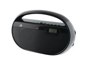 Gpx R602B Am/Fm Portable Clock Radio