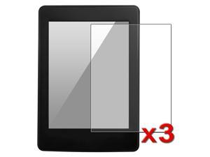 eForCity 3-Pack ANTI-GLARE MATTE LCD SCREEN PROTECTOR COVER FILM compatible with New Kindle Paperwhite