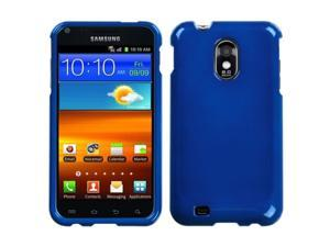 MYBAT Phone Protector Case compatible with Samsung© Epic 4G Touch/Galaxy S II, Solid Dark Blue