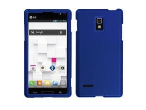 MYBAT Titanium Solid Dark Blue Phone Protector Cover Compatible With LG: P769 (Optimus L9)