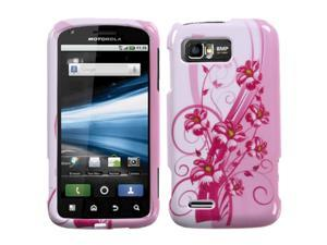 MYBAT Blooming Lily Phone Protector Faceplate Cover Compatible With MOTOROLA MB865(Atrix 2)