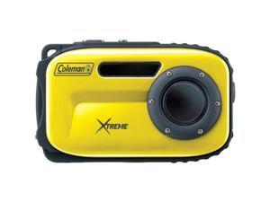 COLEMAN C5WP-Y 12.0 Megapixel Xtreme Underwater Digital Camera ,Yellow
