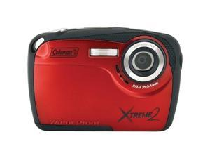 COLEMAN C12WP-R 16.0 Megapixel Xtreme2 HD Underwater Digital Camera ,Red